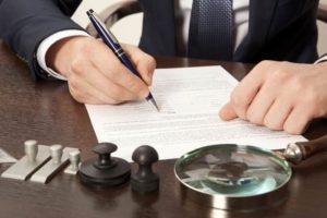 Client filing a lawsuit