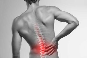 Picture of a person with a spinal injury in Arizona